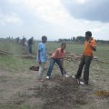 Building the North Fence for HOPEthiopia
