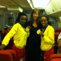 Gold Medal Olympians Tirunesh Dibaba and Meseret Defar