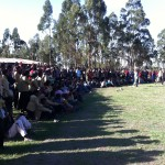 "Over 1,000 students gathered for the ""Sports Day"" celebration at the Harbu Chulule high school. This idea was the brain child of Kiersti and Rilla, 2 of the young adults that  lived in the community for a number of months. Kiersti is still living in the community until June 2012."