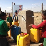 The new Hopethiopia Water distribution facility