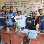 Hopethiopia donated a number of teams of soccer jerseys to the local sports and youth administration