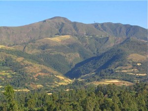 Amborciho mountain is the highest mountain in souther Ethiopia at 10,500 feet