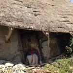 Rural woman waiting to go the Eye clinic